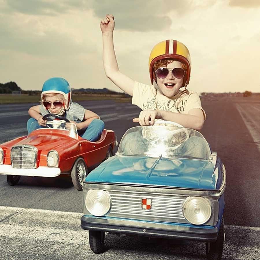 Kids love ride-on car